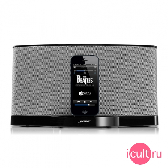 Акустическая система Bose SoundDock Series III Digital Music System Lightning Black черная