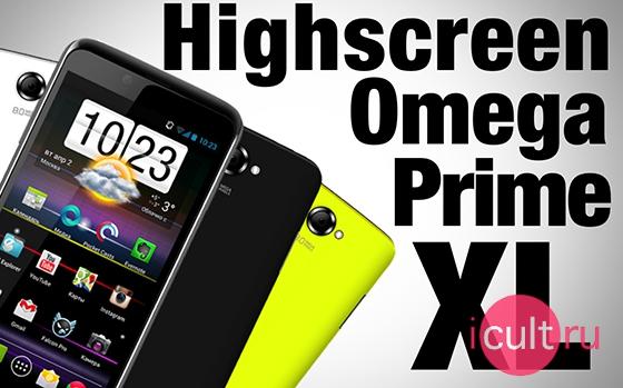 Highscreen Omega Prime XL