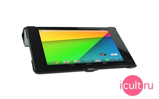 KaysCase SlimBook Leather Case Black