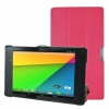 "Чехол-подставка KaysCase SlimBook Leather Case Hot Pink для Google Nexus 7"" II 2013 розовый A-GN7-2ND-SLIM-HPINK"