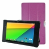 "Чехол-подставка KaysCase SlimBook Leather Case Purple для Google Nexus 7"" II 2013 фиолетовый A-GN7-2ND-SLIM-PURPLE"
