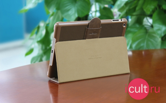 Maccaly Protective Case And Stand Brown