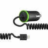 АЗУ Belkin Car Charger 2.1A/Lightning Black черное f8j074btBLK