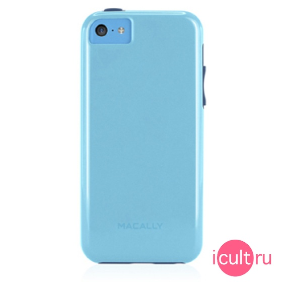 Чехол Macally Flexible Protective Case Blue для iPhone 5C голубой FLEXFITP6-BL