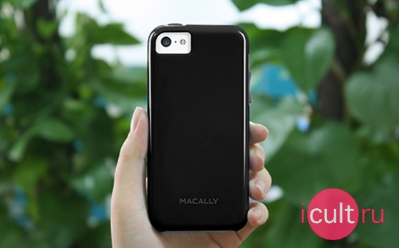 Macally Flexible Protective Case Blue
