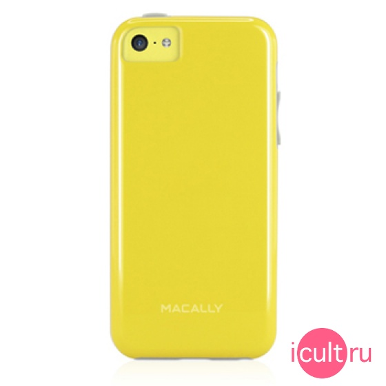 Чехол Macally Flexible Protective Case Yellow для iPhone 5C желтый FLEXFITP6-Y