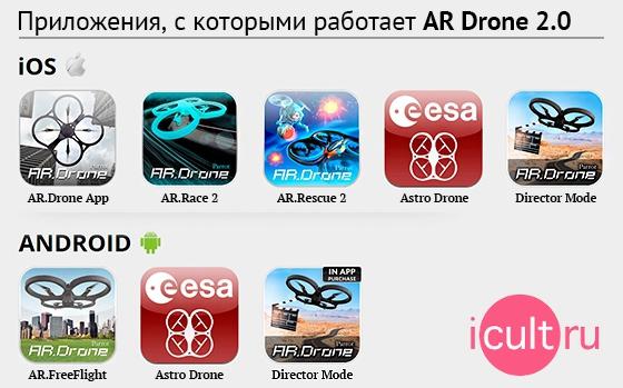 New Parrot AR Drone 2.0 Elite Edition