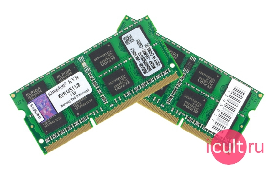 Kingston SO-DIMM DDR3 8GB/1600MHz KVR16S11/8