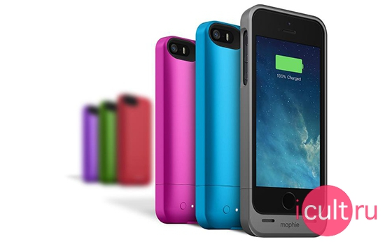 Mophie Juice Pack Helium Spectrum Purple
