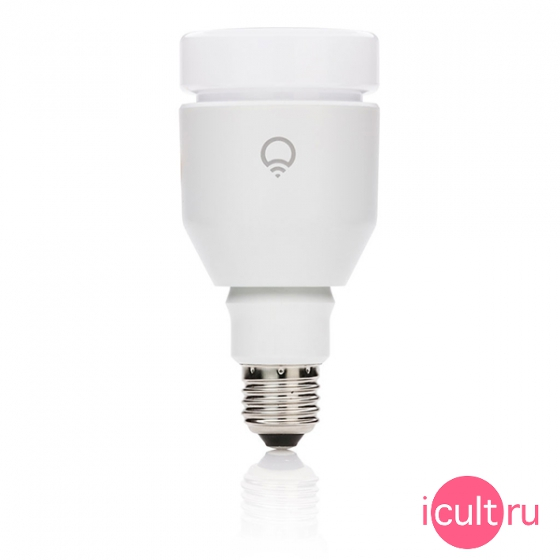 Управляемая мультицветная лампа Lifx Edison Screw A21 17W/E26 White для iOS/Android устройств белая BUL-11-A21E26-W