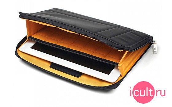 Knomo iPad/Tablet Sleeve Black Matte