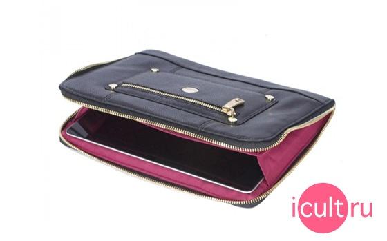 Knomo iPad/Tablet Zip Sleeve Black