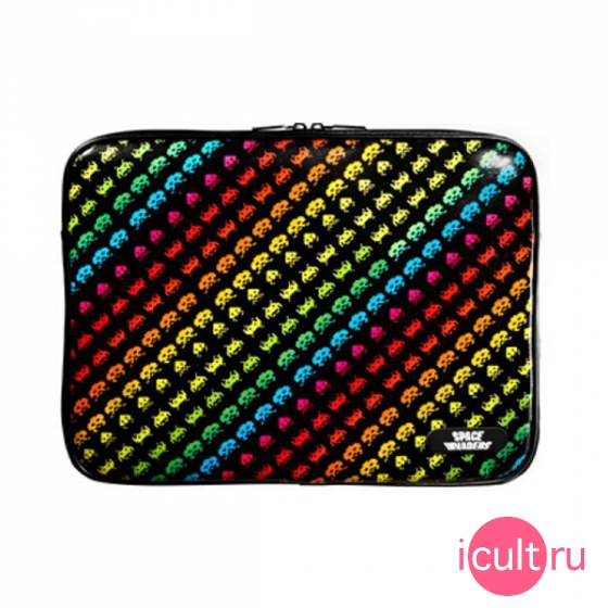"Чехол Scenario Space Invaders Black&Colour для MacBook Pro 13"" рисунок SI-MBP13-V-BLC"