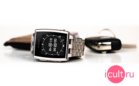 Pebble Steel Brushed Stainless