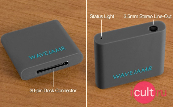 RadTech WaveJamer Bluetooth Wireless Speaker Dock Adapter