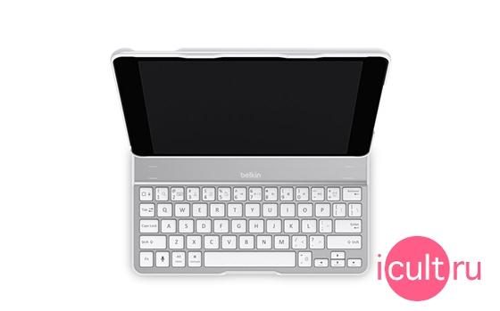 Belkin QODE Ultimate Keyboard Case White