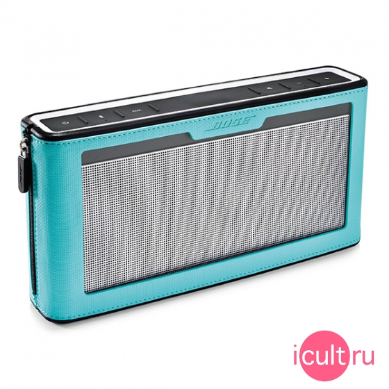 Чехол Bose SoundLink Bluetooth Speaker III Cover Blue для Bose Soundlink Bluetooth III бирюзовый