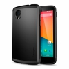 Чехол SGP Case Slim Armor Smooth Black для Google Nexus 5 черный SGP10569