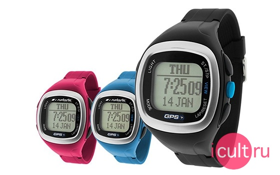 Runtastic GPS Watch And Heart Rate Monitor Pink