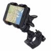 Вело/мото держатель GreatShield GlipGrip Universal Bicycle Handlebar Mount для смартфонов черный GS09048