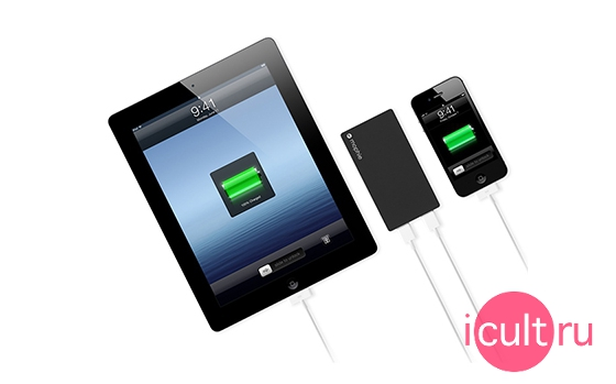 Mophie Powerstation Duo Black