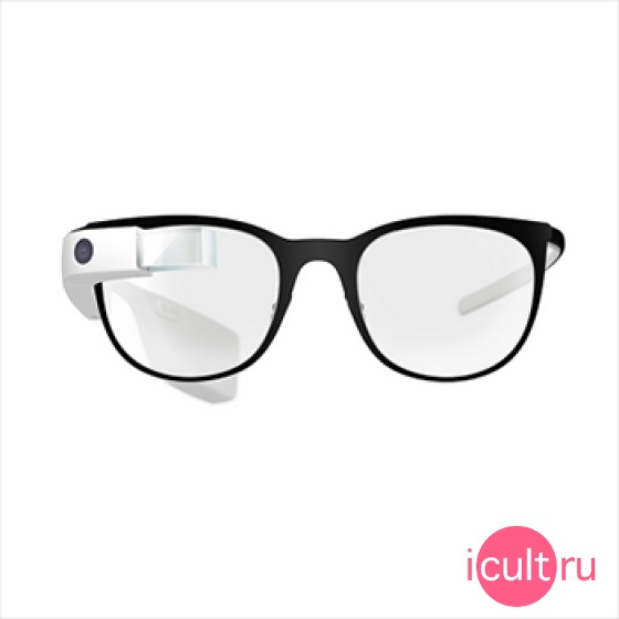 Оправа Google Titanium Curve Color Charcoal/Shale для Google Glass 2.0 темно-серая