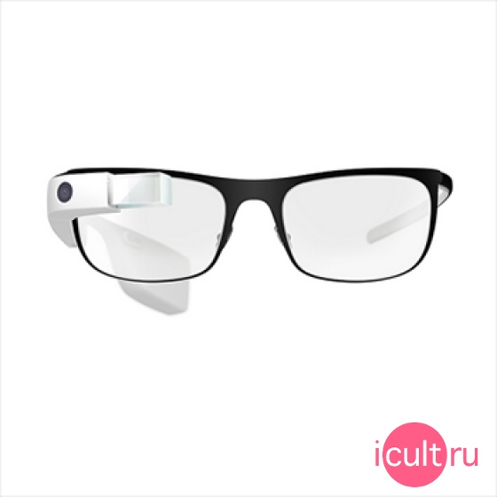 Оправа Google Titanium Thin Color Charcoal для Google Glass 2.0 темно-серая