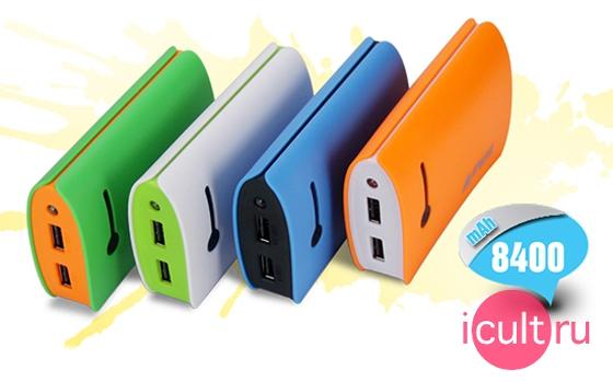 iFans 8400mAh Power Bank Green