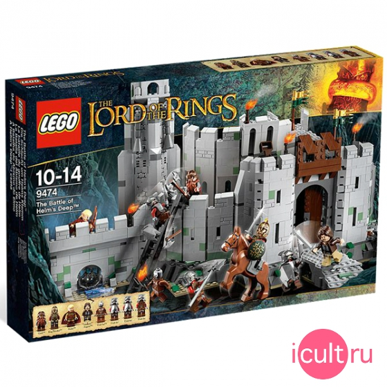Конструктор Lego The Lord Of The Rings The Battle Of Helm 9474