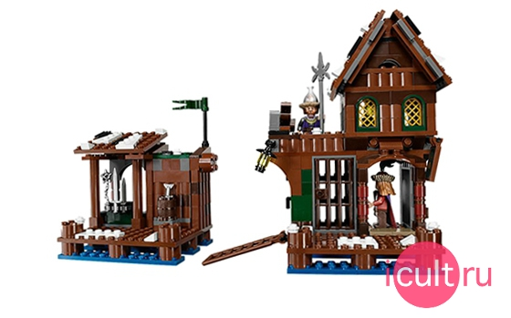 Lego The Hobbit Lake-Town Chase