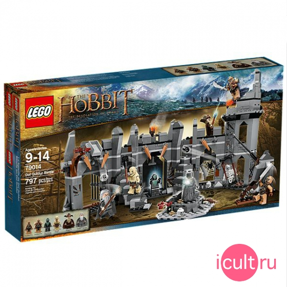Конструктор Lego The Hobbit Dol Guldur Battle 79014 Битва у Дол Гулдура