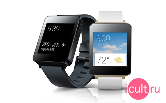 LG G Watch Black Titan