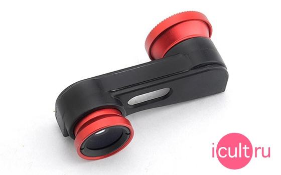 Neewer 3-in-1 Lens Red