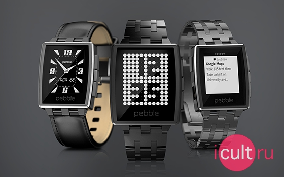Pebble Steel Pebble Steel Brushed Stainless