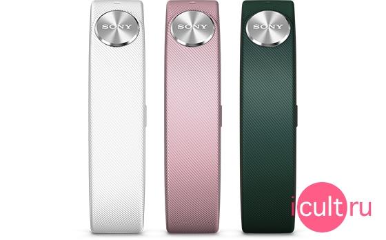 Sony Wrist Straps White/Dark Green/Light Pink