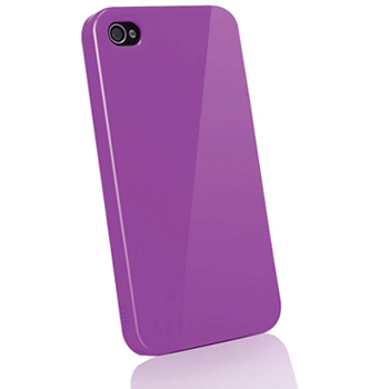 Чехол Kajsa Svelte Colorful Collection Purple для iPhone 4/4S фиолетовый 3-CT-AP-PP