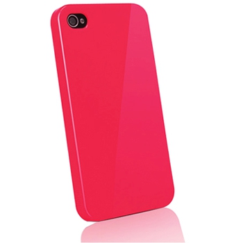 Чехол Kajsa Svelte Colorful Collection Red для iPhone 4/4S красный 3-CT-AP-RD