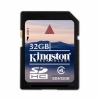 Карта памяти Kingston Flash Memory Card 32GB SDHC Class 4/4Мб/c SD4/32GB