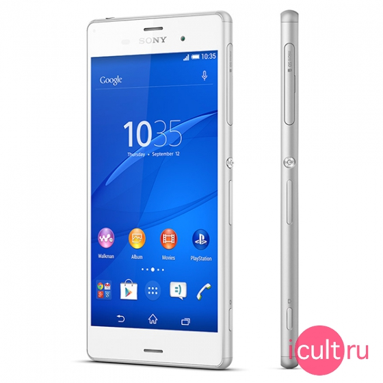 Смартфон Sony Xperia Z3 16GB White белый LTE