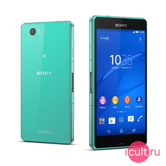 Смартфон Sony Xperia Z3 Compact 16GB Green зеленый LTE