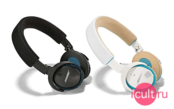Характеристики Bose Soundlink On-Ear Bluetooth Headphones
