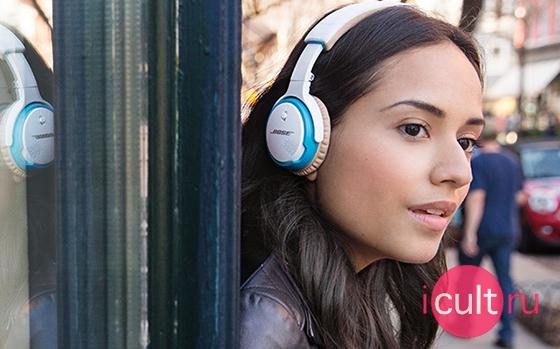 Bose Soundlink On-Ear Bluetooth Headphones White