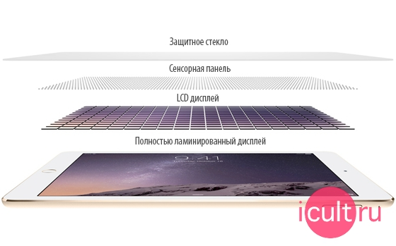Apple iPad Air 2 (4G) Space Gray 16GB