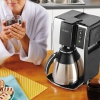 Умная Wi-Fi кофеварка Mr.Coffee 10 Cup Smart Optimal Brew Coffeemaker With WeMo черная/серебристая BVMC-PSTX91WE