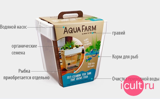Купить Back To The Roots AquaFarm