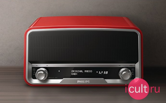Philips Original Radio DAB+ Red