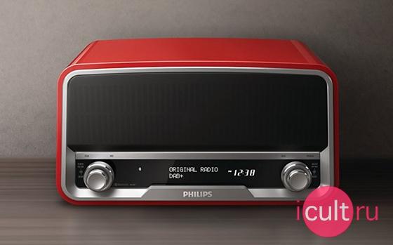 Philips Original Radio DAB+ Red