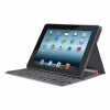 Чехол с клавиатурой на солнечных батареях Logitech Folio Wireless Solar Black для iPad 2/New iPad черный 920-003923