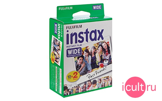 Fujifilm Colorfilm Instax Wide (20/pk)