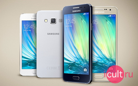 Samsung Galaxy A3 Black